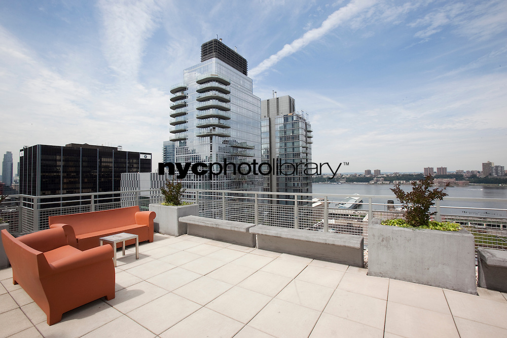 Roof Deck at 224 West 60th Street