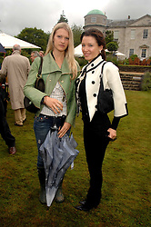 Left to right, LADY ALEXANDRA GORDON-LENNOX and DANNII MINOGUE at the Cartier Style Et Luxe at the Goodwood Festival of Speed, Goodwood House, West Sussex on 24th June 2007.<br /><br />NON EXCLUSIVE - WORLD RIGHTS