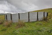 Corrugated iron Sheepfold, Cogshead near Wanlockhead, Southern Uplands, Scotland