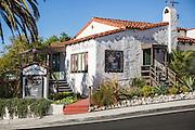 Cabrillo Playhouse on the Corner of Ola Vista and Avenida Cabrillo
