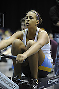 Birmingham, Great Britain,  Women J15,  Gold Medallist,  Alicia BROWN, Notts RC. [5min competition, distance covered 1409M] competing at the 2008 British Indoor Rowing Championships, National Indoor Arena. on  Sunday 26.10.2008 . [Photo, Peter Spurrier/Intersport-images]