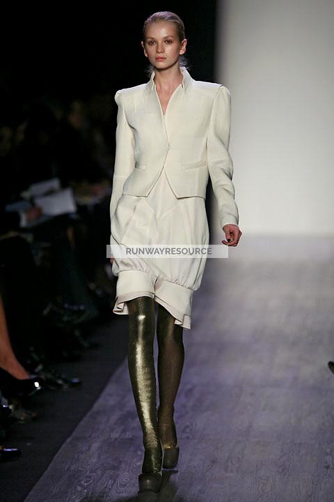 Diana Farkhullina wearing the BCBG Max Azria Fall 2009 Collection