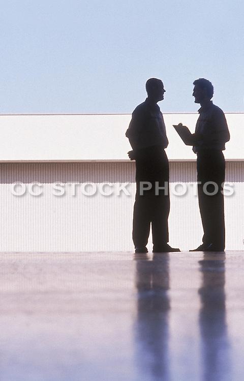 Business Men Discussing Plans