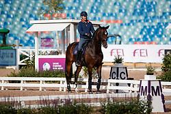 Wilton Spencer, GBR, Super Nova II<br /> Training dressage<br /> European Championships Göteborg 2017<br /> © Hippo Foto - Stefan Lafrenz