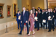 031919 Spanish Royals Attend the Delivery of the National Culture Awards