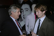 James Hughes-Onslow and Matthew Bell, Drinks party to launch a new Thomas Pink shirt called The Mogul which has a pocket which houses one's cigar. Hostyed by the Spectator and Thomas Pink. Floridita. Wardour St. London. 1 November 2006. -DO NOT ARCHIVE-© Copyright Photograph by Dafydd Jones 66 Stockwell Park Rd. London SW9 0DA Tel 020 7733 0108 www.dafjones.com