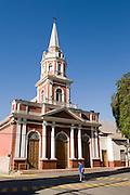 Vicuña city, Chile.