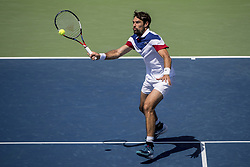 August 30, 2017 - New York, New York, USA - AUG 30, 2017: Jeremy Chardy (FRA) during the 2017 U.S. Open Tennis Championships at the USTA Billie Jean King National Tennis Center in Flushing, Queens, New York, USA. (Credit Image: © David Lobel/EQ Images via ZUMA Press)