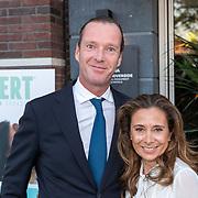 NLD/Amsterdam/20181005 - Benefietdiner Kluivert Dog rescue, Marc Schröder en partner ......