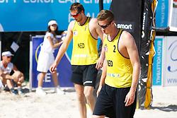 20140607 ITA: EK Beachvolleybal, Cagliari<br /> Jon Stiekema, Christiaan Varenhorst<br /> ©2014-FotoHoogendoorn.nl / Pim Waslander