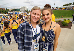 Sep 22, 2018; Morgantown, WV, USA;  at Mountaineer Field at Milan Puskar Stadium. Mandatory Credit: Ben Queen-USA TODAY Sports