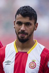 August 15, 2017 - Girona, Spain - Portrait of Farid Boulaya from Argelia of Girona FC during the Costa Brava Trophy match between Girona FC and Manchester City at Estadi de Montilivi on August 15, 2017 in Girona, Spain. (Credit Image: © Xavier Bonilla/NurPhoto via ZUMA Press)