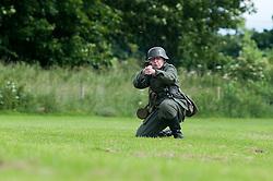 Stanhope War on the line Weardale Railway Co Durham..15 July 2012.Image © Paul David Drabble