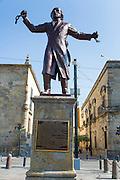 Father Miguel Hidalgo, The Plaza de la Liberacion, Liberacion Square, Guadalajara, Jalisco, Mexico