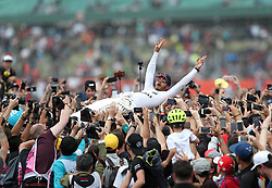 File photo dated 16-07-2017 of Mercedes' Lewis Hamilton