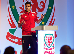 NEWPORT, WALES - Sunday, May 22, 2016: Mikael Arteta during the Football Association of Wales' National Coaches Conference 2016 at the Celtic Manor Resort. (Pic by David Rawcliffe/Propaganda)