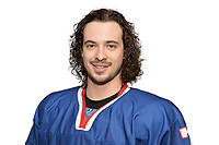 BUDAPEST, HUNGARY - APRIL 18:  Great Britain Ice Hockey Team Forward, Robert Lachowicz. IIHF World Championship Division 1A (Photo by Dean Woolley)