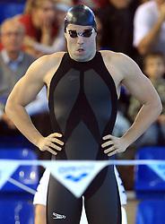 Peter Mankoc, Men`s 100m Individual Medley, at 3rd day of Heats of LEN European Short Course Swimming Championships Rijeka 2008, on December 13, 2008,  in Kantrida pool, Rijeka, Croatia
