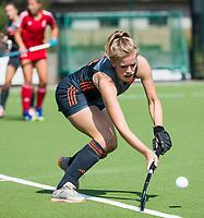 St.-Job-In 't Goor / Antwerpen -  Nederland Jong Oranje Dames (JOD) - Groot Brittannie (7-2). Imme van der Hoek (Ned).  COPYRIGHT  KOEN SUYK