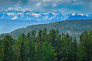 Northern section of the Canadian Rockies<br /> near Stone Mountain Provincial Park<br /> British Columbia<br /> Canada
