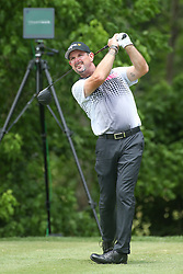 May 25, 2019 - Fort Worth, TX, U.S. - FORT WORTH, TX - MAY 25: Rory Sabbatini hits from the 6th tee during the third round of the Charles Schwab Challenge on May 25, 2019 at Colonial Country Club in Fort Worth, TX. (Photo by George Walker/Icon Sportswire) (Credit Image: © George Walker/Icon SMI via ZUMA Press)