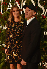 Antonio Banderas and Nicole Kimpel at opening of new Porcelanosa store - 21 Dec 2017