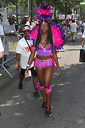 Atmosphere at the 42nd Annual West Indian Day Carnival along Eastern Parkway on September 7, 2009 in Brooklyn, NY