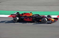 February 18, 2019 - Barcelona, Spain - the Red Bull of Max Verstappen during the Formula 1 test in Barcelona, on 18th February 2019, in Barcelona, Spain. (Credit Image: © Joan Valls/NurPhoto via ZUMA Press)