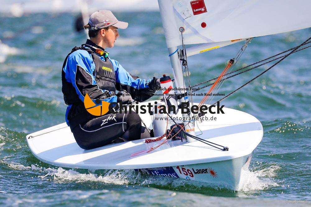 , Travemünder Woche 19. - 28.07.2019, Laser Radial - GER 211420 - Björn RICHARDSEN - Yacht-Club Seeshaupt e. V孓