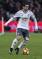 Football - 2016 / 2017 Premier League - West Ham United vs. Manchester United<br /> <br /> Henrikh Mkhitaryan of Manchester United at The London Stadium.<br /> <br /> COLORSPORT/DANIEL BEARHAM