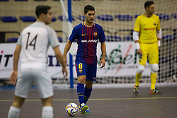 November 22, 2017 - Pescara, PE, Italy - Adolfo Fernndez Daz of FC Barcelona in action during the Elite Round of UEFA Futsal Cup 17/18 match between FC Barcelona and ZVV 'T Knoppount at Giovanni Paolo II arena on November 22, 2017 in Pescara, Italy. (Credit Image: © Danilo Di Giovanni/NurPhoto via ZUMA Press)