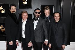 2019 Grammy Awards - Arrivals. 10 Feb 2019 Pictured: Backstreet Boys. Photo credit: Jaxon / MEGA TheMegaAgency.com +1 888 505 6342