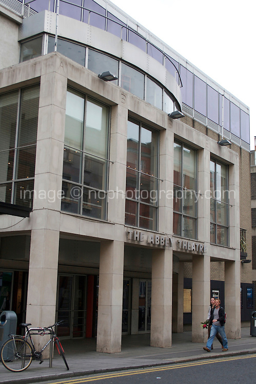 The Abbey Theatre on Abbey Street in Dublin Irelands National Theatre founded in 1904