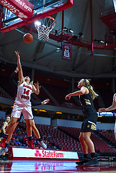 NORMAL, IL - October 30: Paige Saylor during a college women's basketball game between the ISU Redbirds and the Lions on October 30 2019 at Redbird Arena in Normal, IL. (Photo by Alan Look)