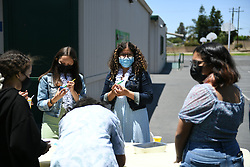 6th Graders Picnic held at Citrus Elementary on June 10, 2021 in Upland, California, United States (Photo by Jc Olivera /VipEventPhotography.com)