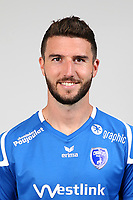 Matthieu Sans during Photoshooting of Niort for new season 2017/2018 on September 12, 2017 in Niort, France. <br /> Photo : CNFC / Icon Sport