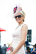 28/07/2014  Corina Hynes from Sligo  at the first evening of the Galway Summer Racing Festival at Ballybrit in Galway City. Photo:Andrew Downes