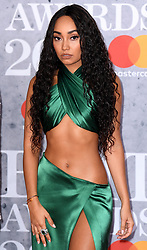 Leigh-Anne Pinnock attending the Brit Awards 2019 at the O2 Arena, London. Photo credit should read: Doug Peters/EMPICS Entertainment. EDITORIAL USE ONLY