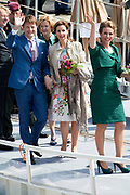 Koningsdag in Dordrecht / Kingsday in Dordrecht<br /> <br /> Op de foto / On the photo: Prinses Anita en prins Pieter-Christiaan