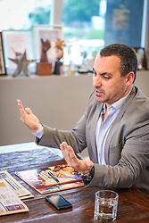 Zeca Honorato é um dos criativos mais premiados de sua geração. Trabalhou como redator e diretor de criação em grandes agências como Paim, Competence e QG/Talent até fundar a AMA em agosto de 2007. FOTO: Jefferson Bernardes/ Agência Preview