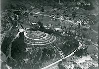 1922 Aerial photo of the Bernheimer Estate. Now the Yamashiro