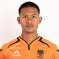 THAILAND - JUNE 24: Jirawat Thongsangproa #22 of Ratchaburi Mitr Phol FC on June 24, 2019.<br /> .<br /> .<br /> .<br /> (Photo by: Naratip Golf Srisupab/SEALs Sports Images/MB Media Solutions)