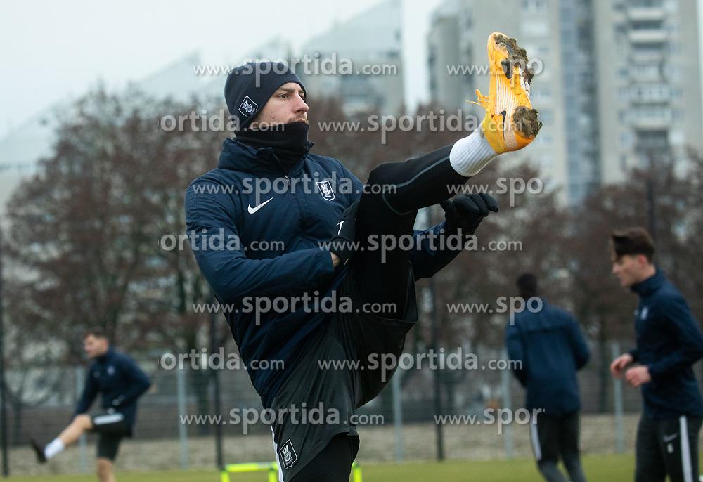 during first practice session of NK Olimpija Ljubljana before the spring season of Prva liga Telekom Slovenije 2020/21, on January 7, 2021 in Sports park Stozice, Ljubljana Slovenia. Photo by Vid Ponikvar / Sportida
