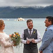 Go West Foto Wedding Photography Portfolio -- Sand Harbor, Nevada.