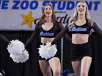 Middle Tennessee Blue Raiders dancers during the UAB Blazers at Middle Tennessee Blue Raiders college basketball game in Murfreesboro, Tennessee, Saturday, February, 15, 2020. Middle lost 79-66.<br /> Photo: Harrison McClary/All Tenn Sports