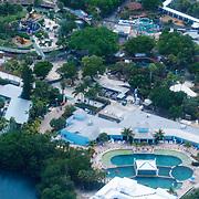 USA/Miami/20150808 - Rondvlucht boven Miami, Miami Seaqurium
