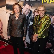 NLD/Amsterdam/20200123 - Premiere Haal Het Doek Maar Op, Bruni Heinke en Diana Dobbelman