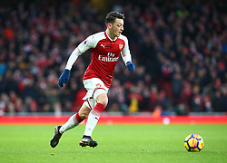 December 16, 2017 - London, England, United Kingdom - Arsenal's Mesut Ozil..during Premier League match between Arsenal and Newcastle United at The Emirates , London 16 Dec  2017  (Credit Image: © Kieran Galvin/NurPhoto via ZUMA Press)