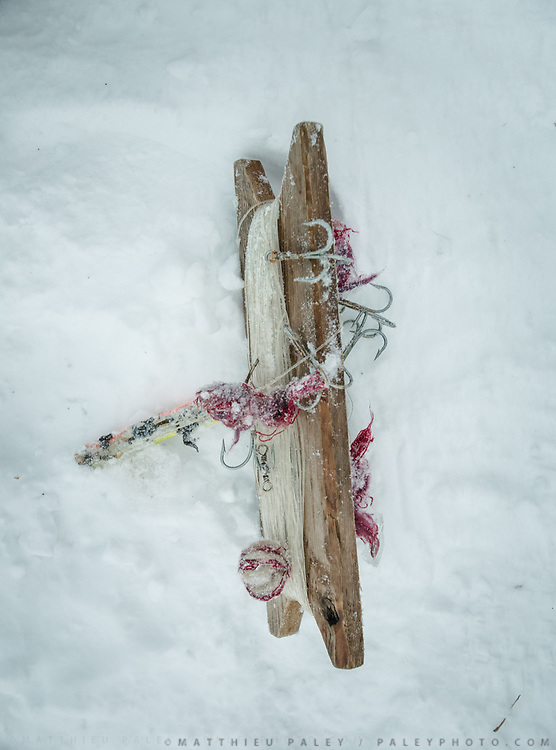 Fishing line. Life in and around the small Inuit settlement of Isortoq (population of 64), in East Greenland.