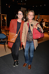Susie Guzman and Sonia Kehl at the 2017 PAD Collector's Preview, Berkeley Square, London, England. 02 October 2017.